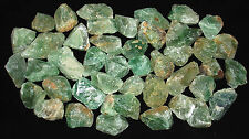 NATURAL SPECIMEN - (1) Green FLUORITE Rough Crystal w/Description -Healing Stone