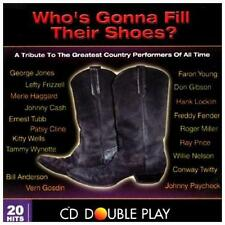 Who's Gonna Fill Their Shoes by Various Artists (CD) Free Ship #GQ62