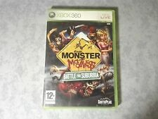 MONSTER MADNESS BATTLE FOR SUBURBIA - MICROSOFT XBOX 360 PAL ITALIANO COME NUOVO
