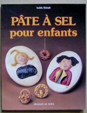 Livre Pâte à sel pour enfants /I28