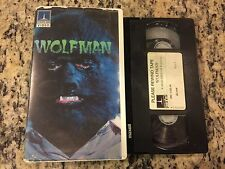 WOLFMAN RARE THORN EMI CLAMSHELL VHS! NOT ON U.S DVD 1979 EARL OWENSBY HORROR!