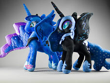 MY Little Pony Princess Luna & incubo luna PLUSH Bundle UK STOCK alta qualità
