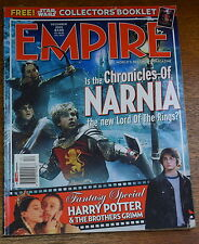2005 EMPIRE Magazine #57 STAR WARS COLLECTORS BOOKLET  Harry Potter NARNIA