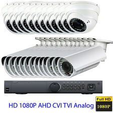24CH 1080P HDAHD Support 4 in 1 2.6MP Sony CMOS Varifocal Security Camera System