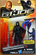 G.I. Joe Retaliation 2011 Black COBRA COMMANDER - SALE BLOW-OUT! MOC