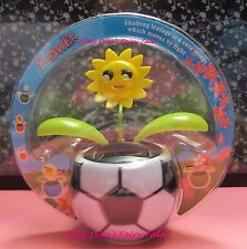 SOLAR POWERED DANCING FLIP FLAP EMOJI  SMILING FACE FLOWER SOCCER POT RARE! HTF