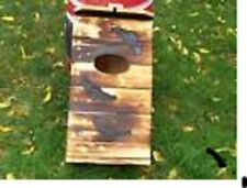 2=Barred OWL.Spotted Owl.HOUSE's.Nesting Box's.M.Holley/FIRE HARDENED WOOD