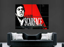 SCARFACE POSTER AL PACINO CLASSIC MOVIE GANGSTER WALL ART PRINT TONY MONTANA