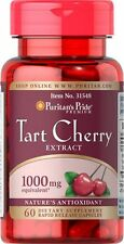 Tart Cherry Extract 1000 mg x 60 Capsules Rapid Release **AMAZING PRICE **
