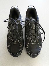 "New Balance ""411"" black, trail running shoes. Men's 9 D (eur 42.5) made in USA!"