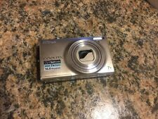 Nikon Coolpix S6100 touch screen digital camera 16 megapixels gray