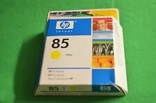Original HP 85 Yellow  Printhead  c9422a Date 2008 Designjet 30 90 130