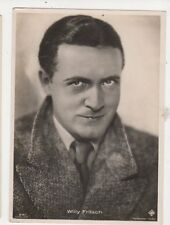 Willy Fritsch Actor Vintage RP Postcard 486a