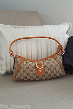 *GUCCI* GG CANVAS MINI ABBEY SHOULDER BAG