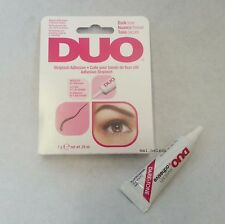 0,25 OZ DUO False Eyelash Glue ADESIVO DARK 7G IMPERMEABILE / occhi ciglia make up