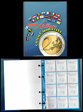 MINI ALBUM PER CUSTODIRE I 2 EURO COMMEMORATIVI 145 X 180 MM. ELEGANTE