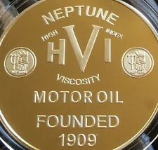 Neptune Motor Oil .999 24k GOLD 1oz Petroleum series 7 Coin Trident Petrol Tin