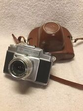 Vintage AGFA AMBI Silette Camera With AGFA Color Solinar 1:2 8/50 Lens And Case