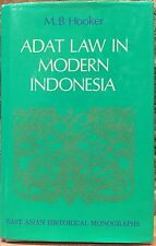 Adat Law in Modern Indonesia by M. B. Hooker (1978, Hardcover with Jacket)