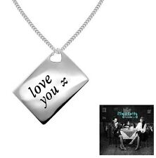 "Lily & Lotty cartas de amor ""Te Amo X"" de plata esterlina & Diamond Collar"