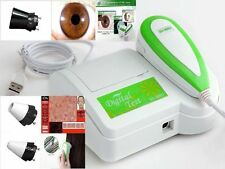 CE NEW 2 in 1 Iridoscope Iridology Iriscope Camera&Hair Camera+Pro Software