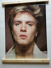 SIMON LE BON DURAN DURAN POSTER LARGE VINTAGE 1983 ANABAS AA093 WAS UNOPENED