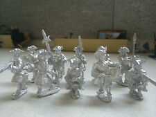 FRONT RANK FIGURINES-SPANISH SUCCESSION-FRENCH INFANTRY-FUSILIERS-10x MIXED MINI