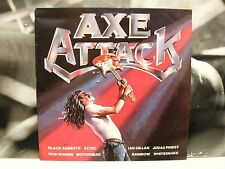 AXE ATTACK LP UK 1980 IRON MAIDEN BLACK SABBATH MOTORHEAD JUDAS PRIEST