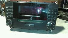 MERCEDES CLK w209 SLK testa dell'unità Radio Stereo Cd player 03-08