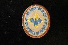 2010 WEBELO SCOUT PATCH - Boy Cub Scouts - Vintage 100 Year Anniversary BSA