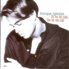 CD single Enrique IGLESIAS Si tu te vas 2 Tracks card sleeve