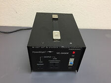 Power Bright Step Up/Down VC-3000W Transformer