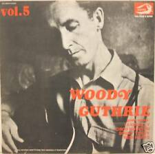 """WOODY GUTHRIE """"VOL.5"""" lp Italy mint"""