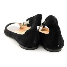 Robert Clergerie Guardia Women US 8.5 Black Flats Blemish  19705