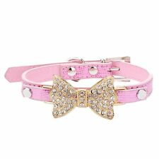 LillypetTM Bling Rhinestone Pet Cat Dog Bow Tie Collar Necklace Jewelry for or S