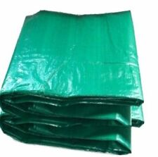 3 x TARPAULIN GROUNDSHEET TRAILER CAMPING COVER LOG COVER 1.8m x 2.4m