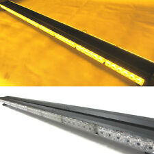 1200MM 96 LED DOUBLE SIDE LED WORK LIGHT BAR BEACON WARNING STROBE LIGHT AMBER