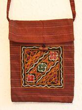 Boho Vintage Indian Embroidered Handmade Silk Shoulder Bag - Kindle Hippy Ethnic
