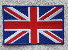 UNITED KINGDOM FLAG PATCH Embroidered Badge 6cm x 9cm Union Jack Great Britain