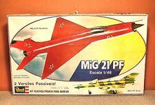 1/48 REVELL MIG-21 PF MODEL KIT #H-236 BUDGET BUILDER