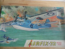 VINTAGE AIRFIX KIT 1-163 1/72   CONSOLIDATED CATALINA PBY-5A (USA ISSUE BOX)
