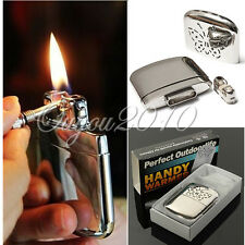 Portable Ultralight Aluminum Handwarmer Pocket Handy Hand Warmer Platinum NEW