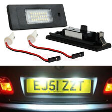 White FREE ERROR LICENSE PLATE LED LIGHT FOR BMW Z4 E63 E64 E81 E85 E87 650i M6