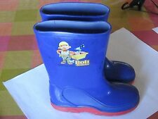 Bob The Builder Size 12 Boy's Wellingtons in Great Condition