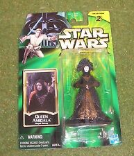 STAR WARS POWER OF THE JEDI CARDED QUEEN AMIDALA ROYAL DECOY