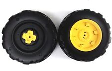 Peg Perego 12 Volt Battery Powered John Deere Ground Force Tractor Rear Wheels