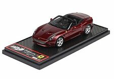 BBR BBR139 - Ferrari California T Turbo cabriolet 2014 Rouge california 1/43