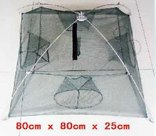 Brand New Fishing Net Trap Fish Shrimp Crab Crayfish Free Postage