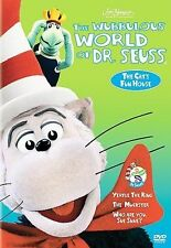 The Wubbulous World of Dr. Seuss - The Cat's Fun House (DVD) New Sealed