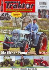 Oldtimer Traktor 2/13 Eicher Puma /MB trac 800/ Abgedreht: Porsche Diesel Junior